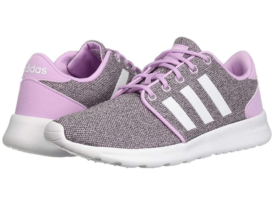 adidas Cloudfoam QT Racer (Clear Lilac/White/Clear Brown) Women