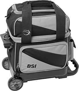 BSI Single Roller Bag Black/Gray