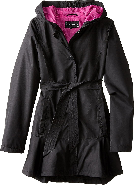 Rothschild Big Girls' Belted Coat