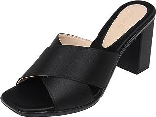 8b258b73b7 Block Heel Women's Fashion Sandals: Buy Block Heel Women's Fashion ...