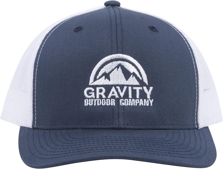 Gravity Outdoor Co. GOC Seattle Mall Logo Mesh Memphis Mall Adjustable Hat Trucker