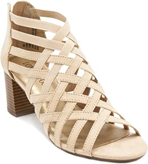 Womens Ninmac Open Toe Heeled Stretch Sandals