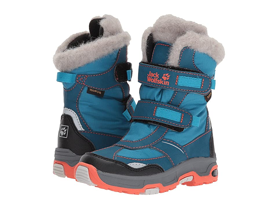 Jack Wolfskin Kids Snow Flake Waterproof (Toddler/Little Kid/Big Kid) (Icy Lake Blue) Girls Shoes