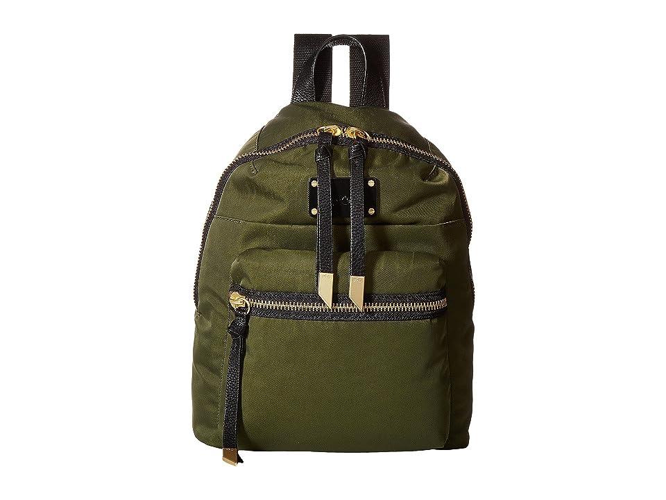 Foley & Corinna Fusion Nylon Backpack (Desert Green) Backpack Bags