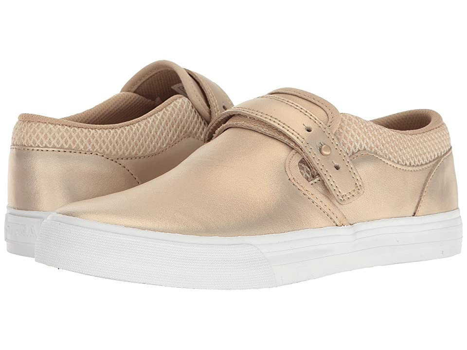 Supra Cubana (Rose Gold/White) Women