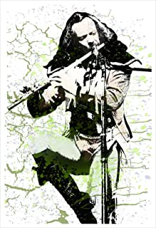 Ian Anderson Jethro Tull Poster Print by delovely Arts