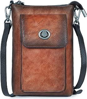 Functional Crossbody Bag with Zipper Pocket Adjustable Strap (001)