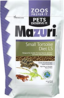 Mazuri Tortoise | Nutritionally Complete Low-Starch Tortoise Food | 6 Ounce (6 oz) Bag