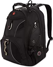Swiss Gear SA1923 Black TSA Friendly ScanSmart Laptop Backpack - Fits Most 15 Inch Laptops and Tablets
