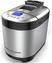 Pohl Schmitt Stainless Steel Bread Machine Bread Maker, 2LB 17-in-1, 14 Settings Incl Gluten Free & Fruit, Nut Dispenser, ...