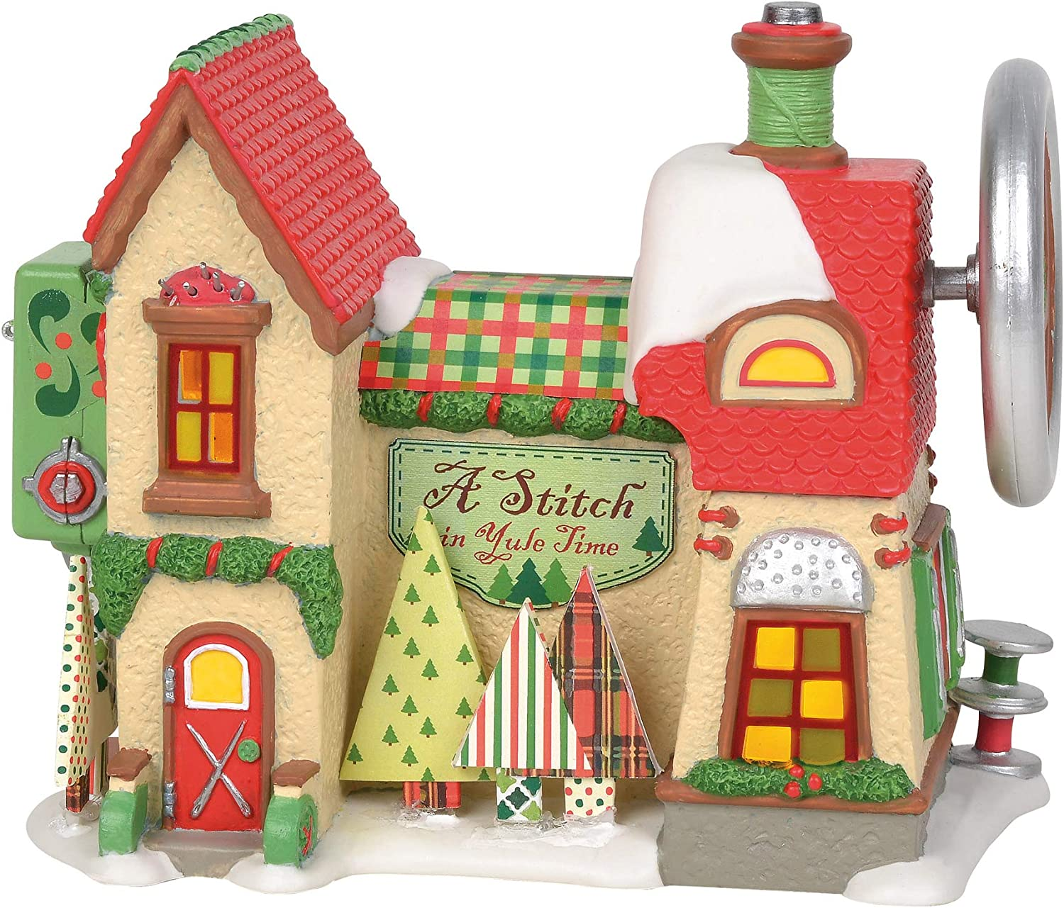 Department 56 North Superior Pole Village A in Animated Time Stitch Dealing full price reduction Yule