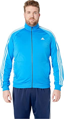 Big & Tall Essentials 3-Stripes Tricot Track Jacket