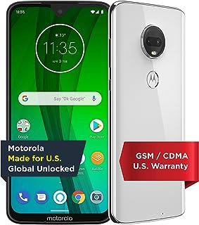 Moto G7 with Alexa Hands-Free – Unlocked – 64 GB – Clear White (US Warranty) –..