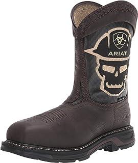 حذاء رجالي من ARIAT WorkHog VentTEK بولد النار والسلامة