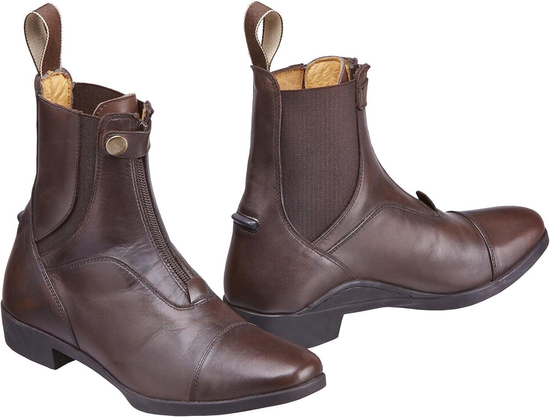 Harry Hall TEX Adults Kingsley Leather Jodhpur Boots