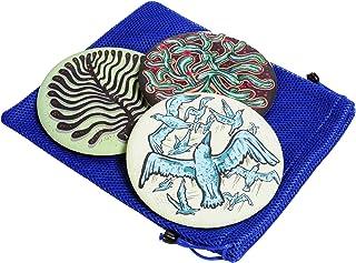 Wingman ARTIST Flying Silicone Disc, Blue Mesh Carry Bag, Bundled Item