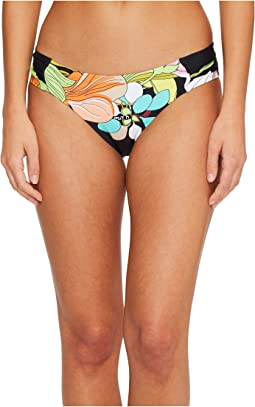 Trina Turk - Bouquet Floral Shirred Side Hipster Bottom