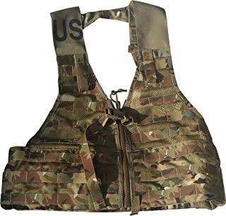Fire Force #8728 MOLLE II Fighting Load Carrier Load Bearing Vest (FLC) Made in USA (Multi Cam)