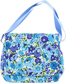 Vera Bradley Messenger Bag (Blueberry Blooms)