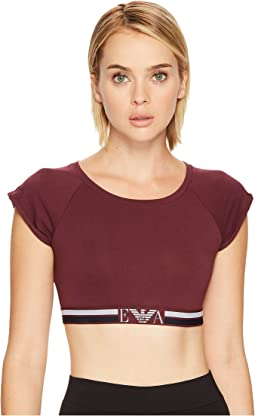 Emporio Armani - Visibility Athletic Crop Top
