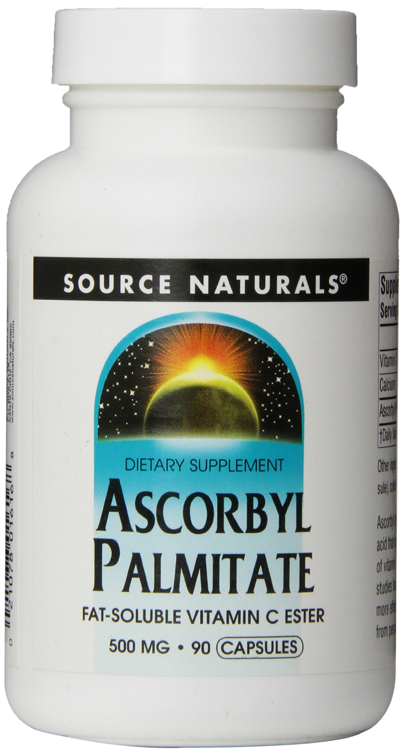 Source Naturals: Ascorbyl Palmitate 500 mg 90 Capsule