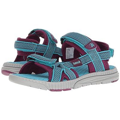 Kamik Kids Match (Toddler/Little Kid/Big Kid) (Teal) Girls Shoes