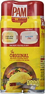 PAM No-Stick Cooking Spray Cans, 16 Ounce