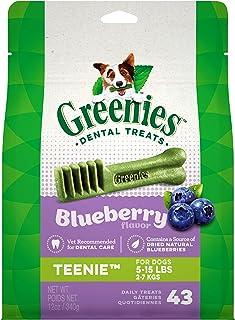 Best Greenies Blueberry Natural Dental Dog Treats, 12oz Packs Review