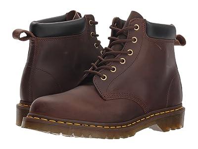 Dr. Martens 939 Ben Six-Eye Core (Gaucho Crazy Horse) Boots