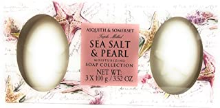 Asquith and Somerset Sea Salt and Pearl Moisturizing Soap Collection 3x100g