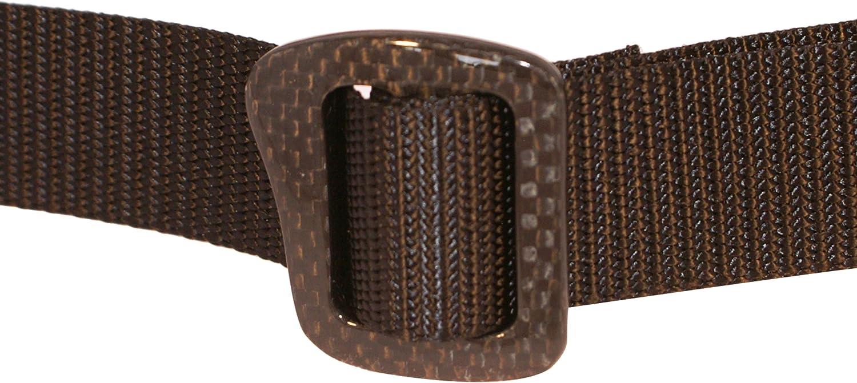 Bison Designs 30mm Carbonator Web Belt with 100-Percent Carbon Fiber Buckle