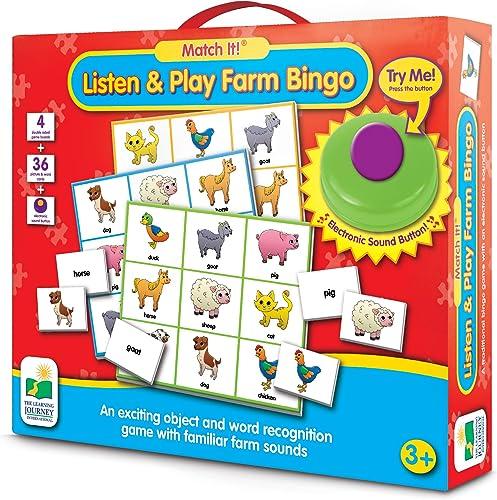 Learning Journey The Match It  - Ger che-Bingo - Elektronische Spiele, Bauernhof