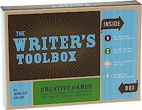 """جعبه ابزار نویسنده: بازیها و تمرینهای خلاقانه برای الهام بخشیدن به سمت """"نوشتن"""" مغز شما (نوشتن نکات تبلیغاتی ، هدایای نویسنده ، هدایای کیت نوشتن)"""