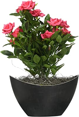 Vickerman F12229 Hot Pink Rose Everyday Floral