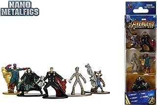 Jada Nano Metalfigs Marvel Avengers Movie Infinity War Wave 2 Metals Die-Cast Collectible Toy Figures, 1.65