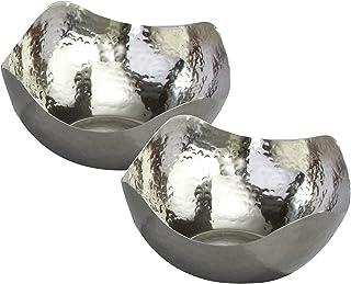 tazón de acero inoxidable de 15,2 cm con martillo, de