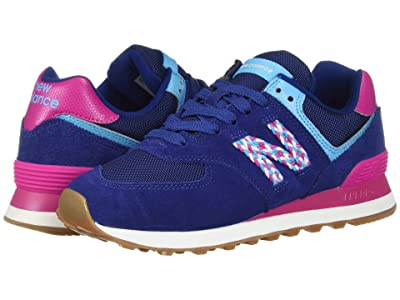 New Balance Classics 574v2 (Techtonic Blue/Carnival Suede/Textile) Women