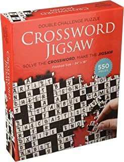 Babalu Crossword Jigsaw Puzzle: 550 Pieces