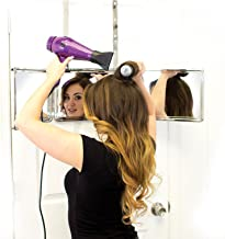 Self Style System - 3 Way Mirror with Adjustable Height Brackets. Full View Vanity Mirror for Makeup, Hair Styling, Coloring, Cutting, and Grooming