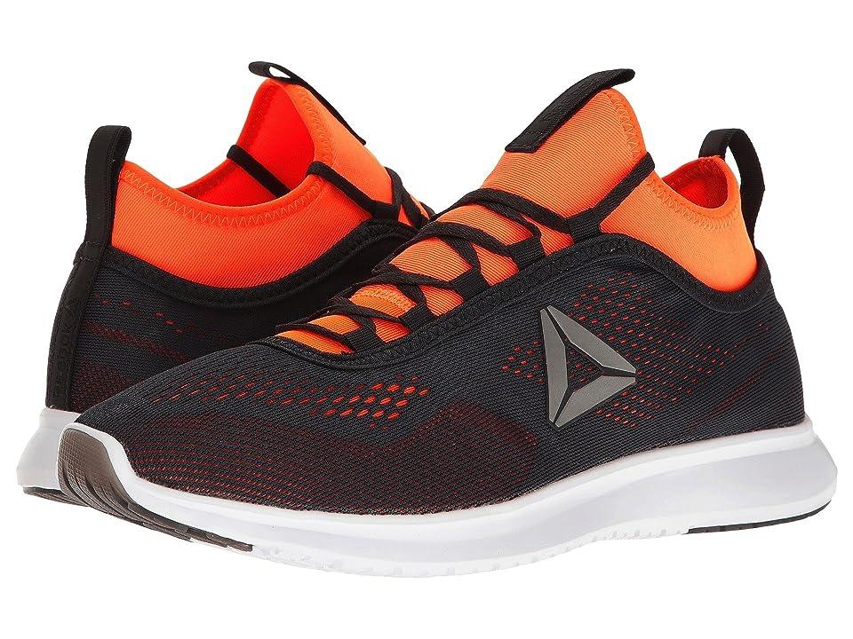 Reebok Plus Runner Tech (Lead/Wild Orange/White) Men