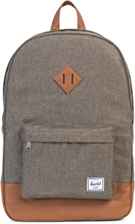 Herschel Heritage Backpack - Canteen Crosshatch/Tan Synthetic Leather
