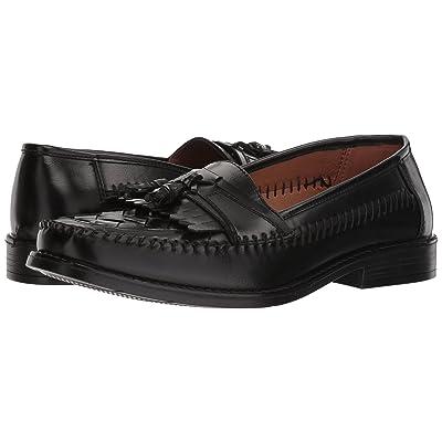 Deer Stags Herman Tassel Loafer (Jet Black Simulated Leather) Men