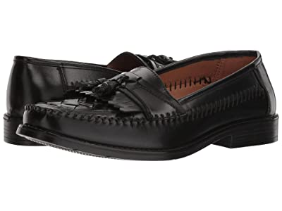 Deer Stags Herman Tassel Loafer (Jet Black Simulated Leather) Men