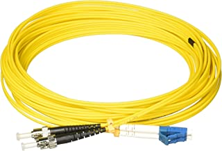 AddOn Add-ST-LC-10M9SMF 10M OS1 Yellow Duplex Patch Cable