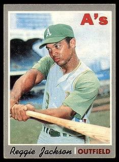 MLB 1970 Topps #140 Reggie Jackson EX/NM Athletics