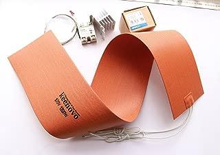 KEENOVO Silicone Heater Blanket for Musical Instrument Bending/Molding, Guitar Side Bending Blanket, 6