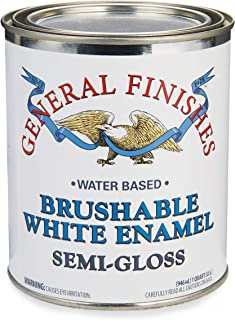 General Finishes White Enamel, Semi-Gloss, Quart