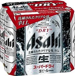 アサヒ スーパードライ 500ml 6缶