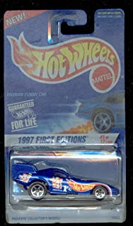Hot Wheels 1997-509 First Edition 1 of 12 Firebird Funny CAR 1:64 Scale