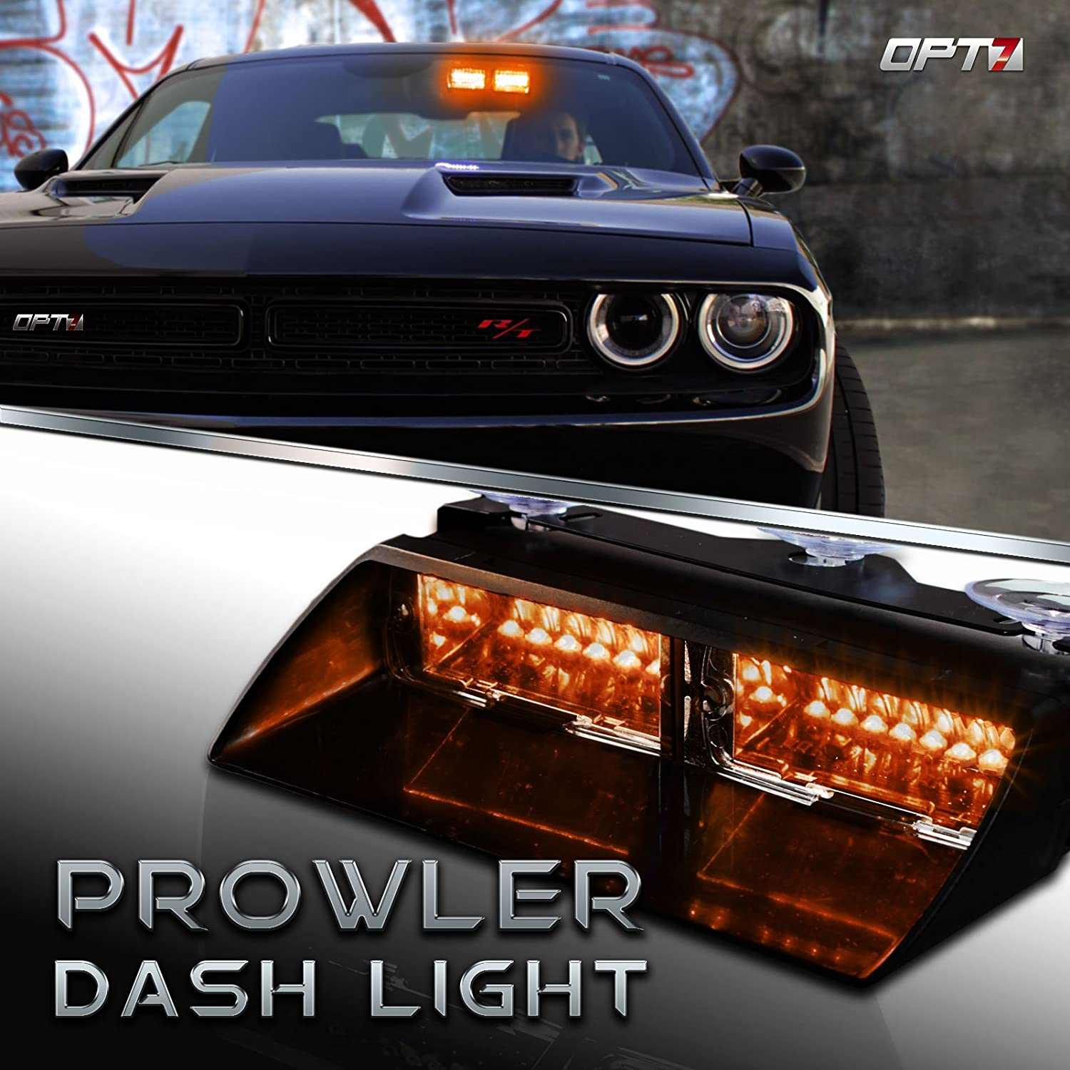 Prowler Emergency Dash Light - True Visible Strob Ranking TOP3 Daytime 18 Beauty products LED